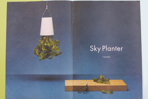 Boskke newspaper catalogue, showing off sky planters and other urban growing solutions. Make and print a newspaper with Newspaper Club.