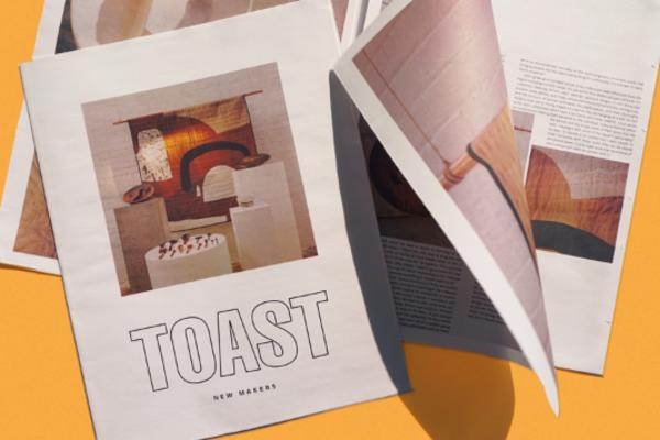 TOAST New Makers newspaper