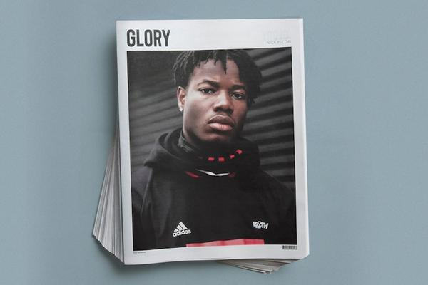 Glory Manchester United photography newspaper