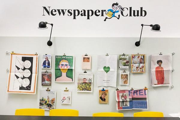 Newspaper Club office