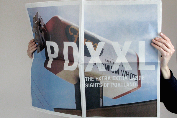XXL zine for Travel Portand. Photography by Danielle Delph.