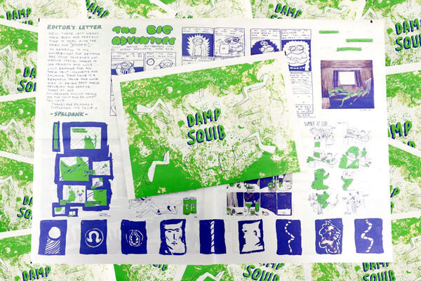 Issue 3 of Damp Squib by Glasgow School of Art Comix Club